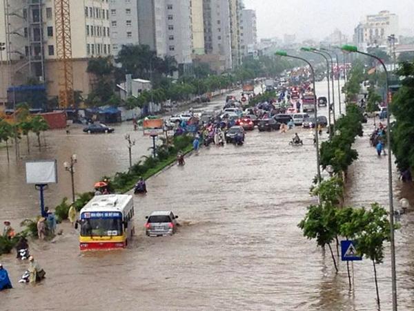 Hà Nội ngập lụt