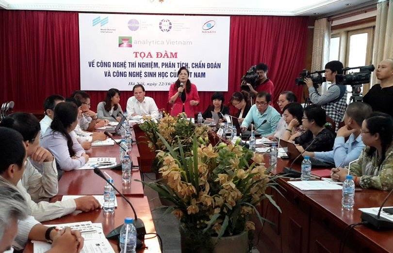 công nghệ và thiết bị của phòng thí nghiệm trọng điểm Việt Nam vẫn lạc hậu