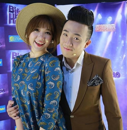 Trấn Thành – Hariwon luôn cười tươi khi bên nhau