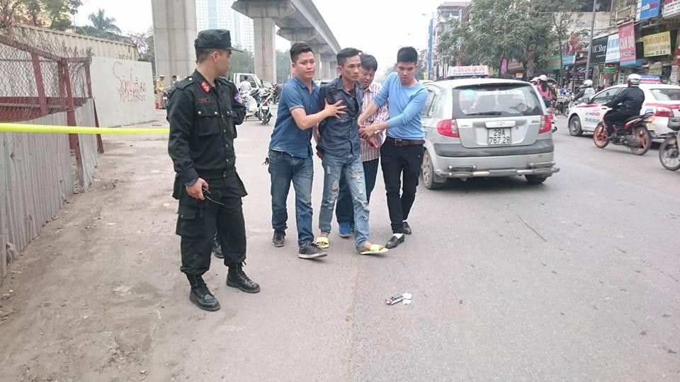 Lực lượng cảnh sát 141 khống chế đối tượng mang ma túy