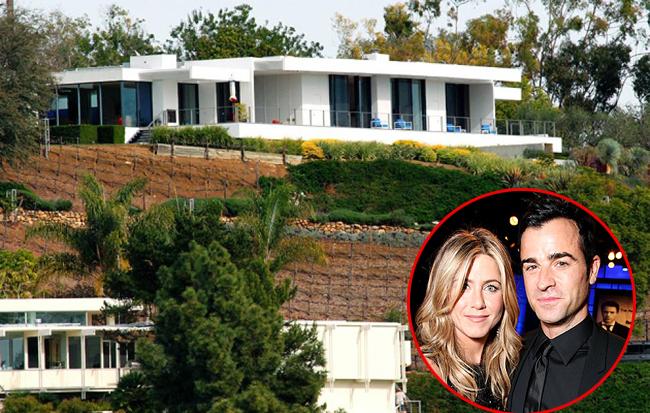 Ngôi biệt thự hoành tráng ở Bel Air, California của vợ cũ Brad Pitt và hôn phu