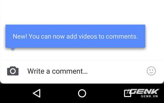 Tính năng bình luận trên Facebook cho phép đính kèm cả video, thay vì chỉ hình ảnh như trước đây
