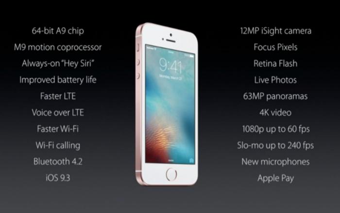 Cận cảnh iPhone SE