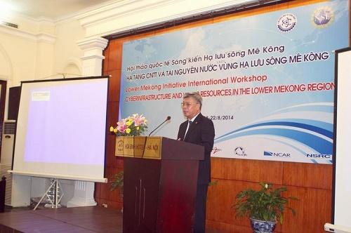 Thứ trưởng Trần Việt Thanh phát biểu tại Hội thảo