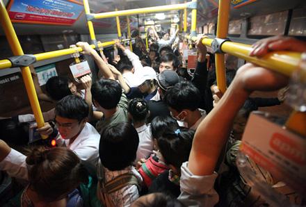 sàm sỡ trên xe buýt
