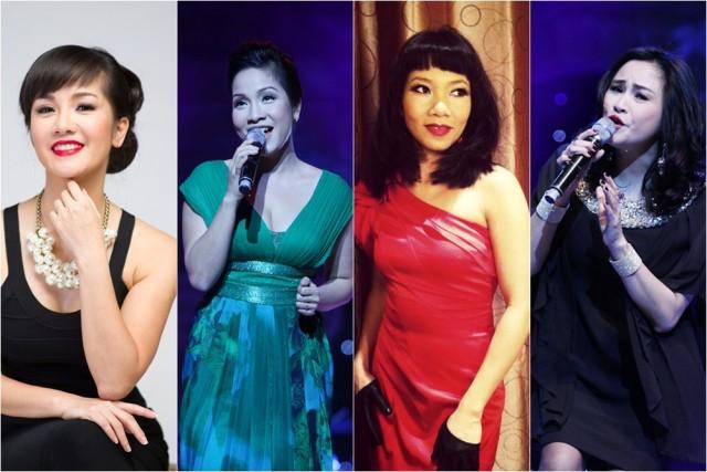 Sân khấu The master of symphony là lần đầu tiên các danh ca nhạc nhẹ Việt Nam có dịp cùng hòa giọng