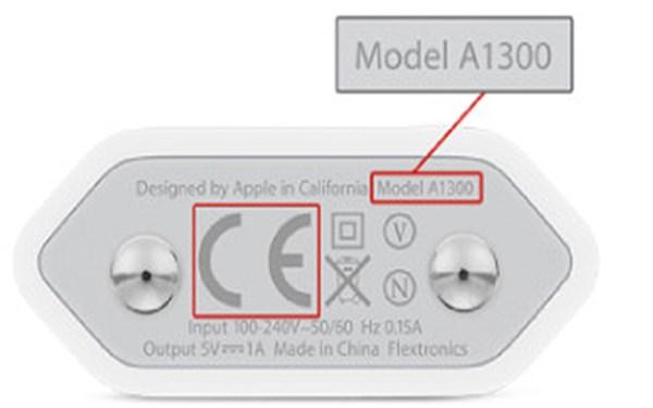 Model sạc A1300 của Apple bị thu hồi vì lỗi quá nóng