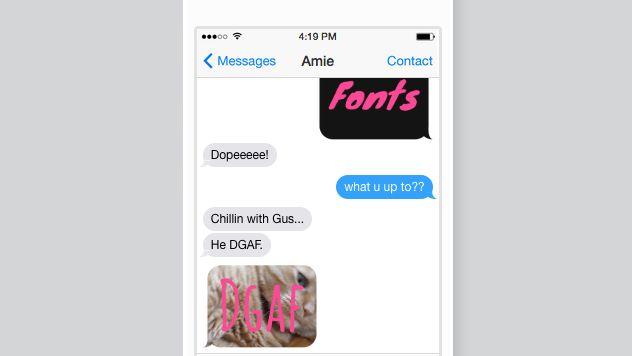 Ultratext là một ứng dụng có thể cài trên Facebook Messenger