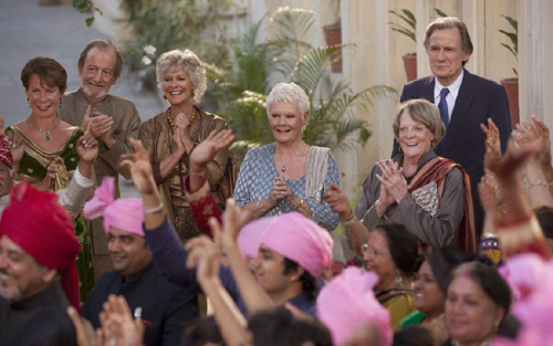 Một cảnh trong 'The Second Best Exotic Marigold Hotel'