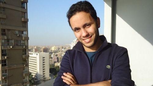 Chân dung Mostafa Hemdan - ông chủ công ty khởi nghiệp Recyclobekia. Ảnh: BBC