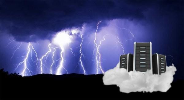 51% người Mỹ được khảo sát nghĩ rằng thời tiết bão ảnh hưởng đến điện toán đám mây (mô hình điện toán sử dụng các công nghệ máy tính và phát triển dựa vào mạng internet)