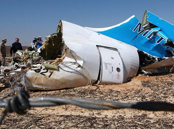 Hiện trường vụ máy bay Nga rơi