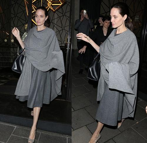 Angelina Jolie đến nhà hàng dùng bữa theo lời mời dùng bữa với cựu Ngoại trưởng Anh – William Hague.