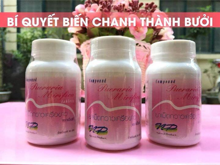 Thuốc nở ngực Thái Lan: Chị em hãy thôi ảo tưởng!