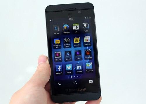 Blackberry Z10 giảm giá