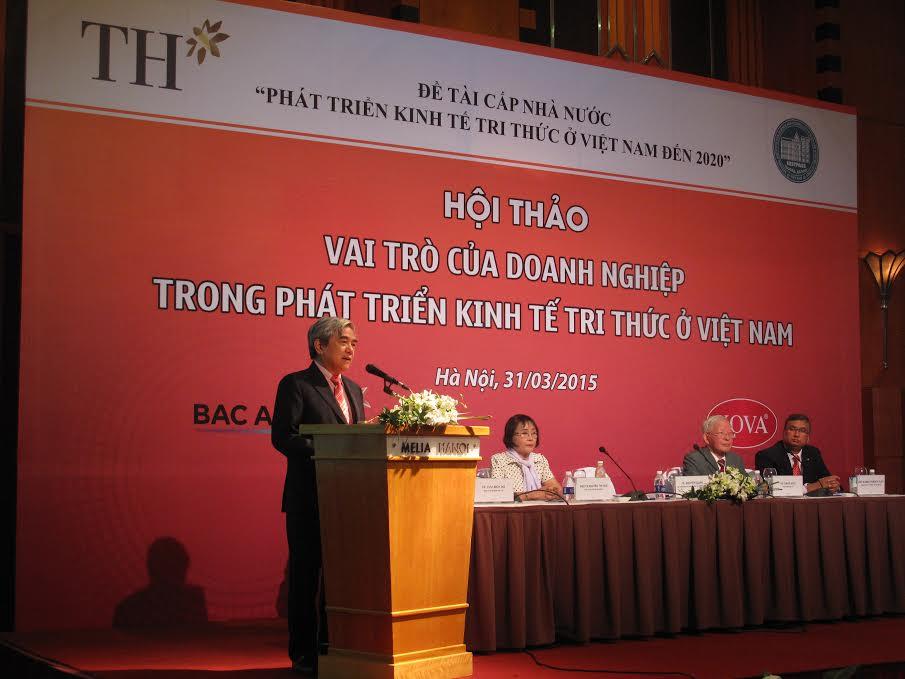 Bộ trưởng Bộ KHCN Nguyễn Quân