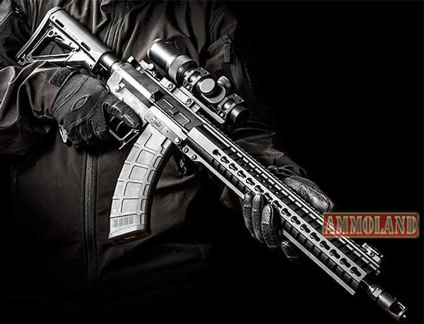 MK-47 là sự kết hợp ưu điểm giữa 2 loại vũ khí quân sự nổi tiếng Súng trường AR-15 và AK-47