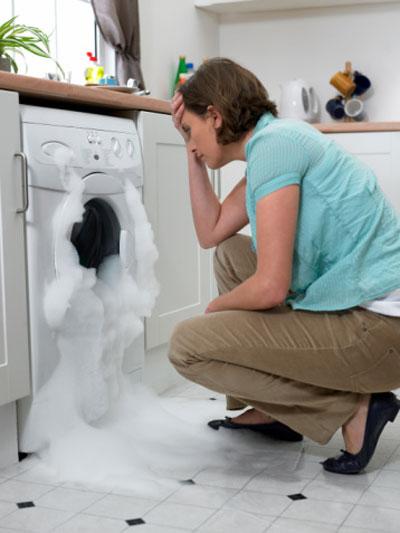 Nên đọc kỹ các cảnh báo trên máy giặt