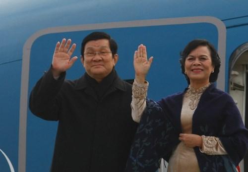Chuyến thăm CHLB Đức của Chủ tịch nước Trương Tấn Sang và Phu nhân