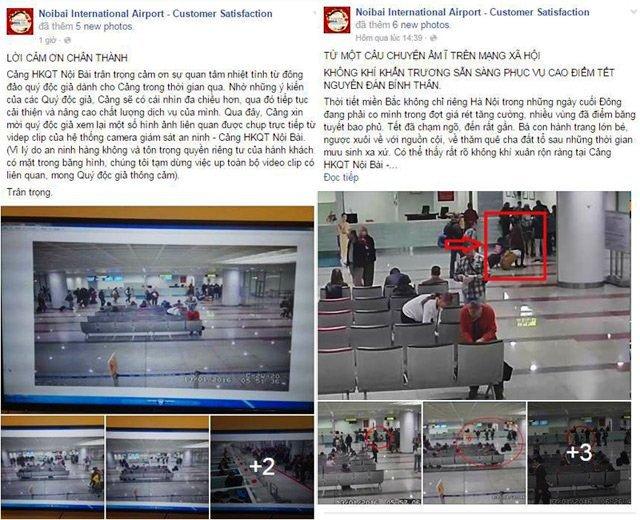 Sân bay Nội Bài lên tiếng vụ cán bộ đòi hối lộ gây