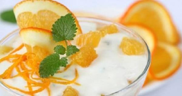 Cách làm sữa chua cam