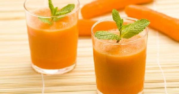 Cách làm sinh tố cam cà rốt
