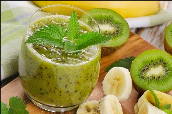 Cách làm sinh tố kiwi chuối