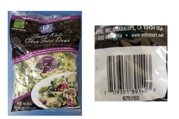 Salad cải xoăn của thương hiệu nổi tiếng bị thu hồi vì nguy cơ nhiễm khuẩn nguy hiểm