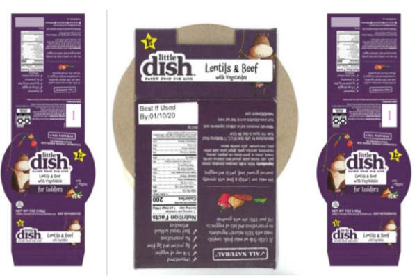 Súp đậu lăng thịt bò bị thu hồi vì chứa chất gây dị ứng không khai báo