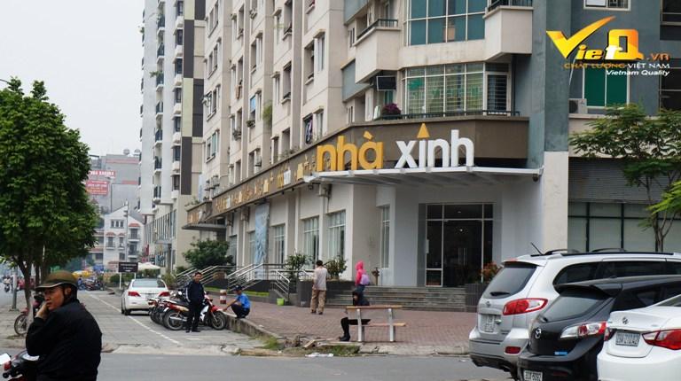 Mất xe máy ở siêu thị nội thất Nhà Xinh