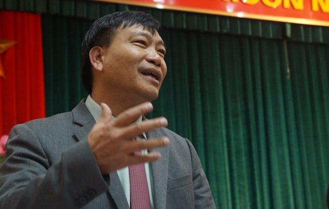 Ông Trần Ngọc Nam, phó Giám đốc Sở KHĐT Hà Nội