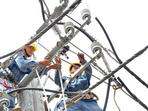 Điều chỉnh giá điện tăng nếu giá nguyên liệu đầu vào 3-5%
