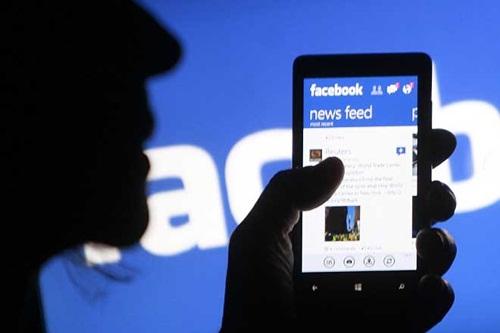 Mạng xã hội Facebook hiện có hơn 1,6 tỷ người dùng mỗi tháng. Ảnh: Reuters