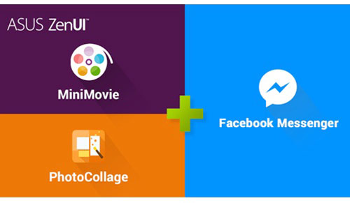 Người dùng có thể truy cập trực tiếp vào hai ứng dụng ngay trên Facebook Messenger.