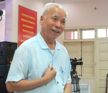 Giáo sư Phạm Duy Hiển - Chủ tịch Hội đồng khoa học Cục Kiểm soát và An toàn bức xạ hạt nhân Việt Nam