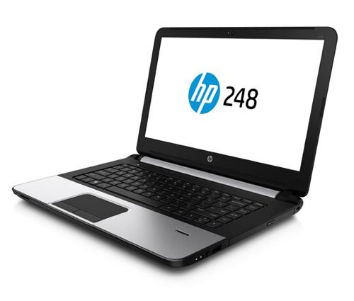HP248 nằm trong bộ đôi laptop giá rẻ có tính năng nổi bật