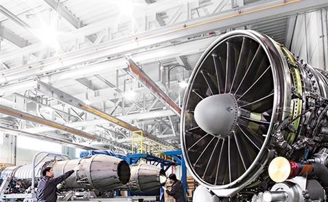 Nhà máy sẽ sản xuất các cấu kiện, linh kiện động cơ cho một số hãng hàng không hàng đầu thế giới. Ảnh: Hanwha