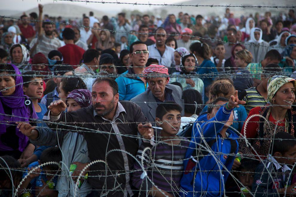 Thảm cảnh của những người trốn khỏi phiến quân Hồi giáo