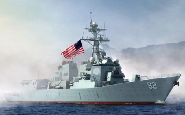 Mỹ điều tàu khu trục tuần tra trên Biển Đông