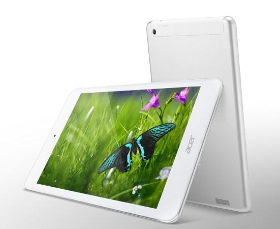 Máy tính bảng giá rẻ Acer sở hữu thiết kế đẹp mắt, cấu hình mạnh