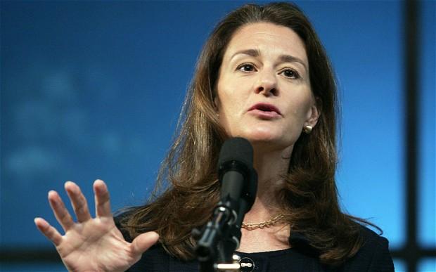 """01. Melinda Gates. Đứng thứ 3 trong danh sách """"Những phụ nữ quyền lực nhất thế giới"""