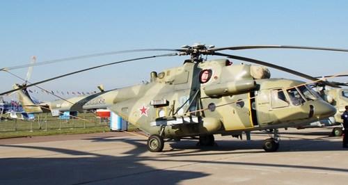 Mi-8AMTSh: Máy bay tấn công
