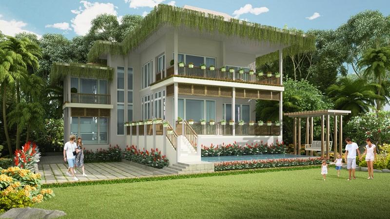 Mẫu biệt thự trên đồi - đơn lập tại Premier Village Phu Quoc Resort