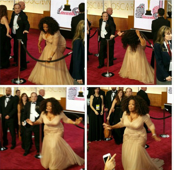 Oprah Winfrey bất chấp