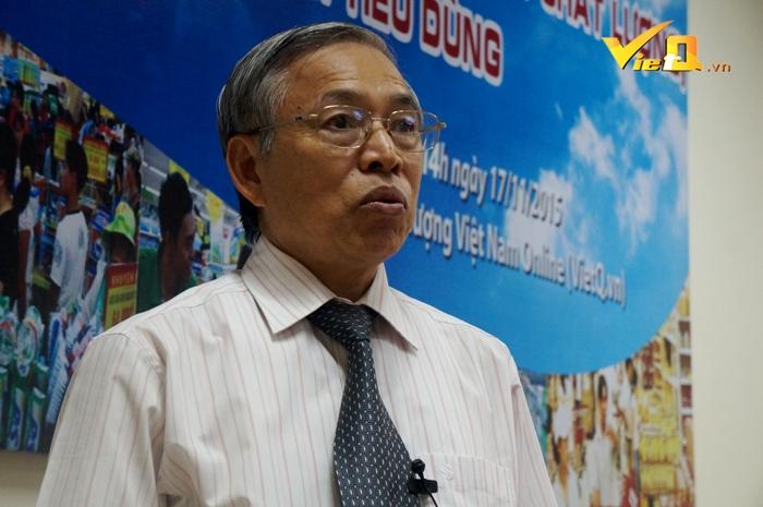 ông Nguyễn Mạnh Hùng - Phó Chủ tịch kiêm Tổng thư ký Hội Tiêu chuẩn và Bảo vệ người tiêu dùng Việt Nam