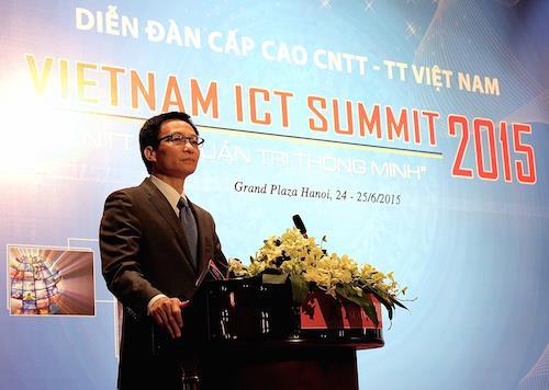 Phó Thủ tướng Chính phủ Vũ Đức Đam đã nhấn mạnh Việt Nam đã có được những bước tiến vượt bậc trên bản đồ công nghệ thông tin thế giới. Việt Nam đã lọt vào nhóm các quốc gia dẫn đầu thế giới về cung cấp dịch vụ thuê ngoài phần mềm