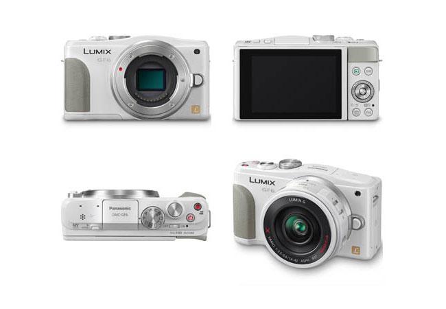 Sản phẩm Panasonic Lumix GF6 trắng