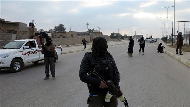 Các tay súng IS tại một địa điểm không xác định ở Iraq