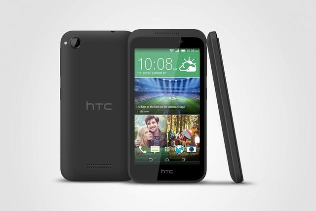 Smartphone giá rẻ HTC Desire gọn nhẹ, cấu hình mạnh ấn tượng