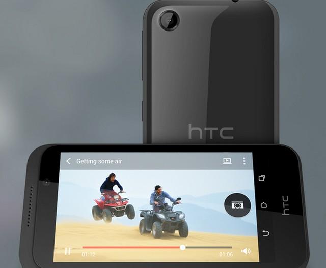 Smartphone giá rẻ HTC Desire 320 cấu hình mạnh, thiết kế ấn tượng